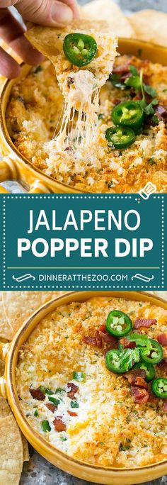 Jalapeno Popper Dip with Bacon Jalapeno Popper Dip with Bacon Lauren s Latest laurenslatest Parties Jalapeno Popper Dip an easy crowd pleaser that is perfect nbsp hellip Cheese Appetizers Best Appetizer Recipes, Bacon Appetizers, Appetizer Dips, Dip Recipes, Mexican Food Recipes, Snack Recipes, Mexican Appetizers, Quick Appetizers, Recipies