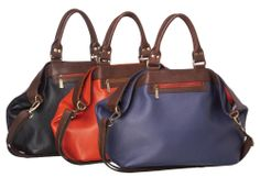 Day to evening handbag  #designer #pierrecardin #leather #handbag