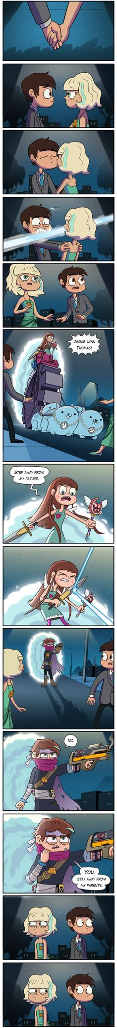 Star vs The Forces of evil - Ship war au part 1