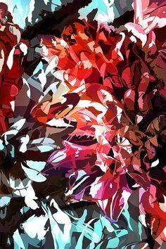 Flower 15 Illustration Print Digital Art 13 x 19 by TulipeStudio, $45.00