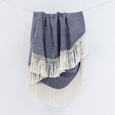 The Citizenry - Diamanta Throw, Indigo