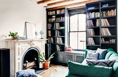 Inside+a+Small+Brooklyn+Townhouse+with+Major+Style+via+@domainehome