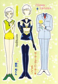 Sailor Moon Paperdolls by pauline Sailor Moon Stars, Japanese Domestic Market, Nerd Crafts, Old School Toys, Paper Dolls Printable, Retro Toys, Manga, Paper Toys, Altered Art