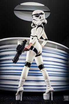 Female stormtrooper porn