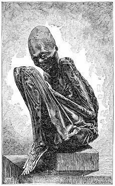 9 Foot Giant Human Mummified Skeleton Is Found Within a Pennsylvania Burial Mound- Giants were in America too.