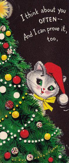 Vintage Hallmark Christmas Kitten | by hmdavid