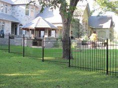 Iron Fences, Fencing, Gazebo, Deck, Outdoor Structures, Outdoor Decor, Home Decor, Fences, Kiosk