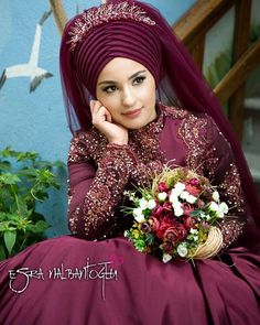 Likes, 13 Comments - Nagihan Özdogan ( Muslimah Wedding Dress, Hijab Style Dress, Muslim Brides, Wedding Hijab, Muslim Dress, Pakistani Wedding Dresses, Wedding Dress Trends, Muslim Girls, Wedding Dress Styles