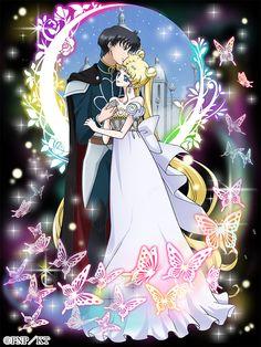 Toei Animation, Bishoujo Senshi Sailor Moon, Tsukino Usagi, Mamoru Chiba, principe Endymion