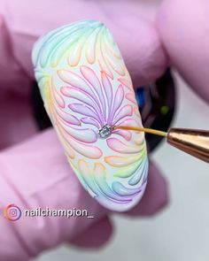 3d Nail Designs, New Nail Art Design, Nail Art Designs Videos, Creative Nail Designs, Nail Art Videos, Colorful Nail Designs, Creative Nails, Acrylic Nail Designs, Diy Acrylic Nails