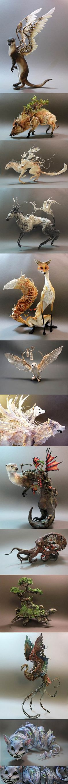 Phantasmagorical Animals by Ellen Jewett. .