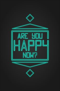 """""""Are You Happy Now?"""" - Evan Goodbred"""