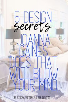 I will show you exactly how to decorate the easy way just like Joanna Gaines designs her Fixer Upper Bedrooms. Bedroom Design On A Budget, Guest Bedroom Decor, Bedroom Wall, Bedroom Furniture, Dream Master Bedroom, Farmhouse Master Bedroom, Master Bedrooms, Joanna Gaines Design, Joanna Gaines Style