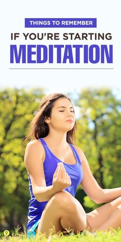 Meditation can bring inner peace by removing the stress. The younger generation is mostly stressed ...