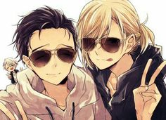 Yuri, Yurio, and Viktor
