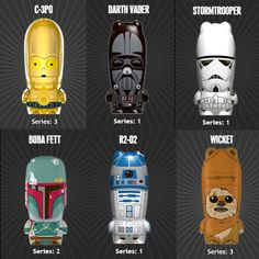 Star Wars Flash Drives. Christmas is coming soon. R2D2 is pretty cute. Just saying...