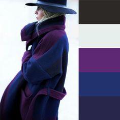 Come abbinare i colori: la guida completa Colour Combinations Fashion, Color Combinations For Clothes, Fashion Colours, Colorful Fashion, Color Schemes Colour Palettes, Colour Pallette, Color Trends, Color Combos, Deep Winter