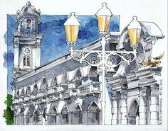 JR Sketches: Tres dibujos de SD mas elaborados (22 x 27,5)