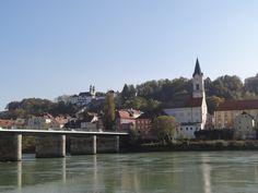 Three rivers. Passau Germany