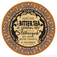 The Bitter Tea of General Yen.
