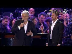 David Bisbal y Placido Domingo ♫ Adoro ♫ #PlacidoEnElAlma  29-06-2016
