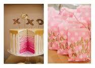 Resultado de imagen para gold and pink party
