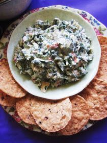 Homespun With Love: Recipe Wednesday: Spinach & Kale Greek Yogurt Dip