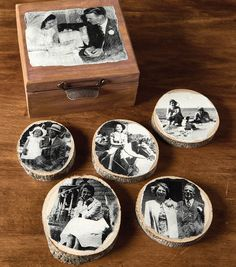 How To Make Old Photo Distressed Coasters