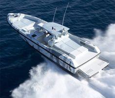 Couach Hornet 1300 : Premiers essais en mer !