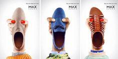 Divertida y sonriente publicidad de MAX Shoes.    Más publicidad sonriente: Video con las casas más felices El poder de la sonrisa Danone Nu...