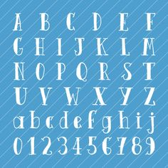font on blue Calligraphy Fonts Alphabet, Hand Lettering Alphabet, Handwritten Fonts, Typography Fonts, Cute Fonts, Fancy Fonts, Printing Practice, Pop Design, Lettering Design