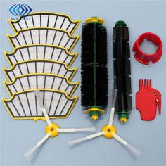 11.16$  Watch here - http://alipv0.shopchina.info/go.php?t=32729149434 - 1 x Round Cleaning Tool 1 x BristleBeater Brush 1 x Platode Cleaning Tool 2 x 3-Filters Brush Pack Kit For 500 Series  #magazineonlinewebsite