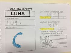 La clase de Mar: MIS PALABRAS SECRETAS Deaf Children, Beginning Of Year, Spanish Class, Literacy, Alphabet, Acting, Homeschool, Teacher, Activities