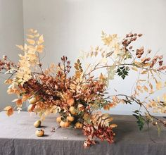 I don't know about you but I love a little bit of imperfection in my floral arrangements. A little nibbled leaf, some color change, dried flowers, it really marks a moment in time. seasonal flowers and foliage. Fall Bouquets, Floral Bouquets, Fall Flowers, Dried Flowers, Seasonal Flowers, Ikebana, Floral Wedding, Wedding Flowers, Fall Wedding