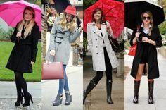 Dicas de looks para dias de chuva - Site de Beleza e Moda