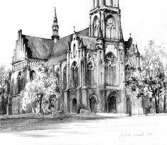 Neogothic Church by micorlr | Create your own roleplaying game books w/ RPG Bard: www.rpgbard.com | Pathfinder PFRPG Dungeons and Dragons ADND DND OGL d20 OSR OSRIC Warhammer 40000 40k Fantasy Roleplay WFRP Star Wars Exalted World of Darkness Dragon Age Iron Kingdoms Fate Core System Savage Worlds Shadowrun Dungeon Crawl Classics DCC Call of Cthulhu CoC Basic Role Playing BRP Traveller Battletech The One Ring TOR fantasy science fiction horror