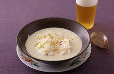 中華風豆腐豆乳スープ | お酒にピッタリ!おすすめレシピ | サッポロビール