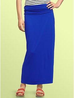 Foldover maxi skirt | Gap