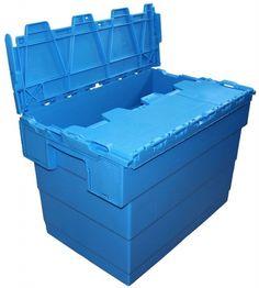 Kunststof verhuisbakken zijn ideaal te gebruiken bij bedrijfsverhuizingen. Herbruikbaar, eenvoudig te sluiten en zeer stevig. Verkrijgbaar in 2 afmetingen.