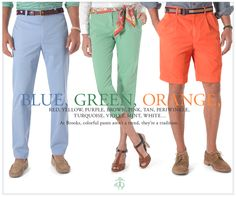 Colored Bottoms #BrooksBrothers