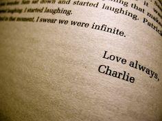 Love always, Charlie.