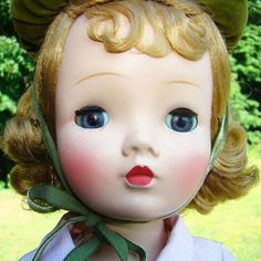 1954 Sweet Violet Jointed Doll Madame Alexander Cissy Face ex Kathy from americanbeautydolls on Ruby Lane