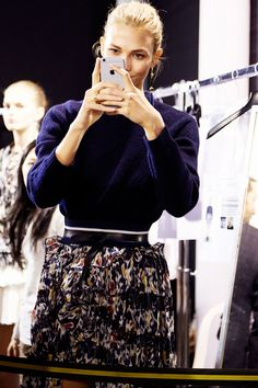 Isabel Marant Fall 2015 rtw - behind the scenes