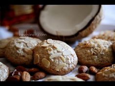 Gluten Free Almond Coconut Cookies Recipe - Easy Bake Cookies - Миндальное Печенье - Heghineh - http://www.bestrecipetube.com/gluten-free-almond-coconut-cookies-recipe-easy-bake-cookies-%d0%bc%d0%b8%d0%bd%d0%b4%d0%b0%d0%bb%d1%8c%d0%bd%d0%be%d0%b5-%d0%bf%d0%b5%d1%87%d0%b5%d0%bd%d1%8c%d0%b5-heghineh/