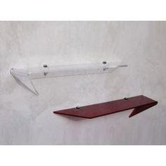 Mensola da parete plexiglass Strato, Shelves, Design, Home Decor, Italia, Shelving, Decoration Home, Room Decor