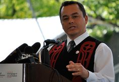 Shawn A-in-chut Atleo, national chief of the Assembly of First Nations. Photo: Marites N. Sison