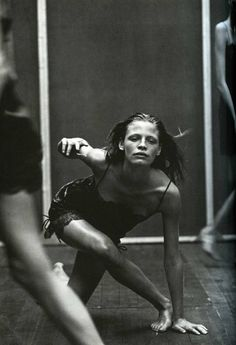 Enchanting Mood: Tanga Moreau photographed by Peter Lindbergh for Vogue Italia, September 1997 Peter Lindbergh, Dance Photography, White Photography, Fashion Photography, Movement Photography, Paolo Roversi, Annie Leibovitz, Dance Movement, Contemporary Dance