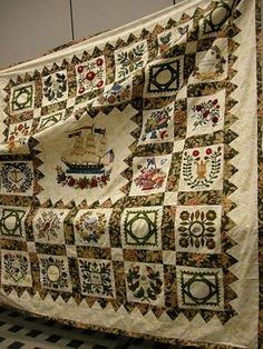 My all time favorite quilting legend...Elly Sienkiewicz master of the Boston Album Quilt