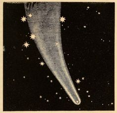 The Great Comet of 1811. Uranography, or A Description of the Heavens. 1850.