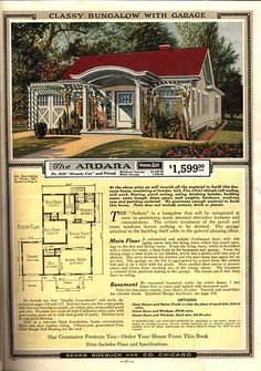 The Ardara Sears Modern Home first offered 1919